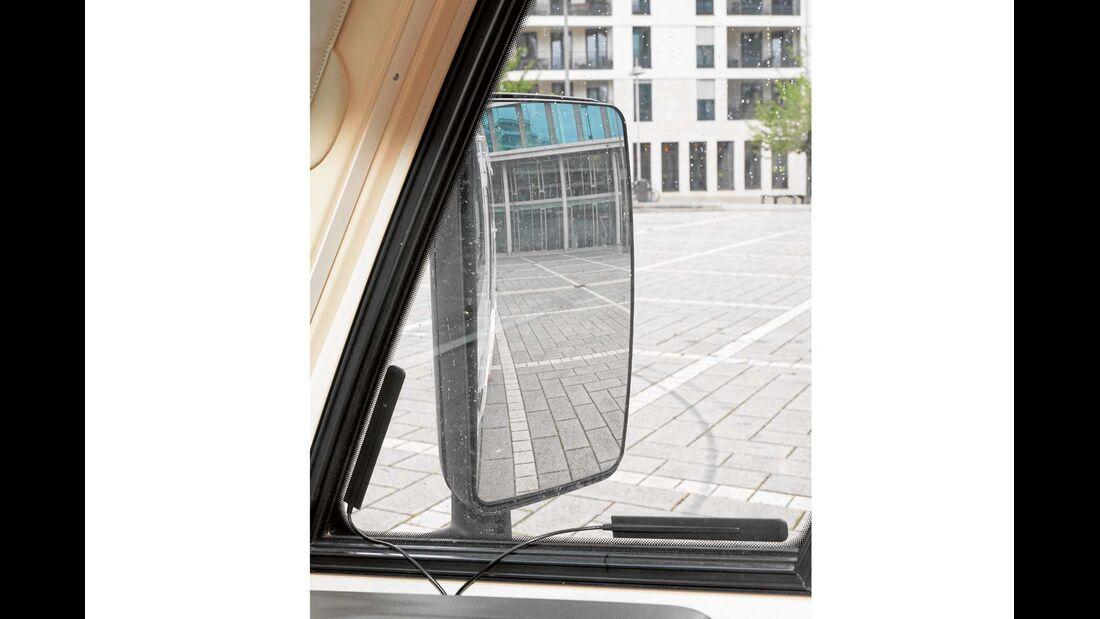 Serienspiegel ohne Weitwinkelteil beim Euro Mobil Integra Line 690 HB