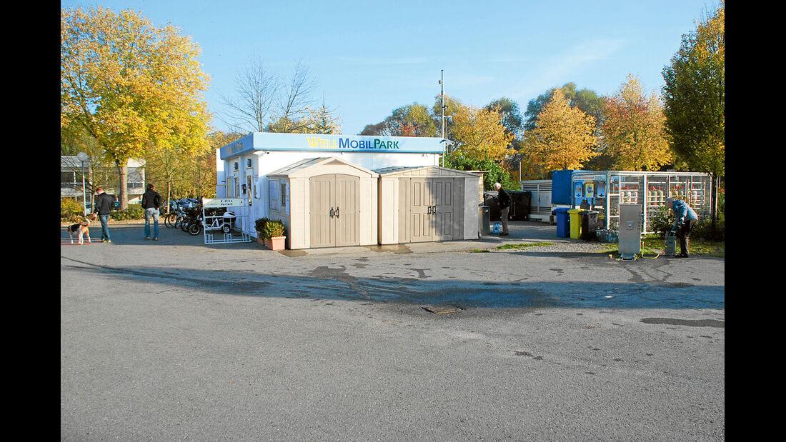 Service-Center im Stellplatz Bad Schönborn