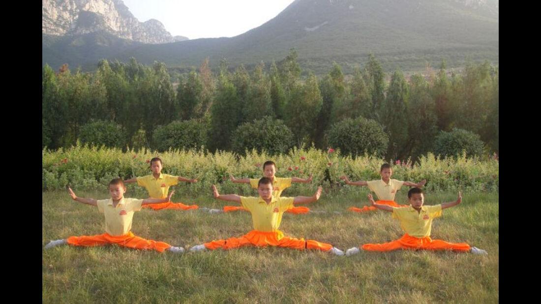 Shaolin Kinderschüler