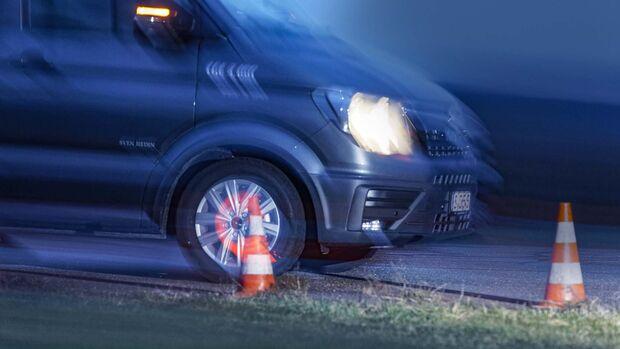 Sicherheit Bremsentest