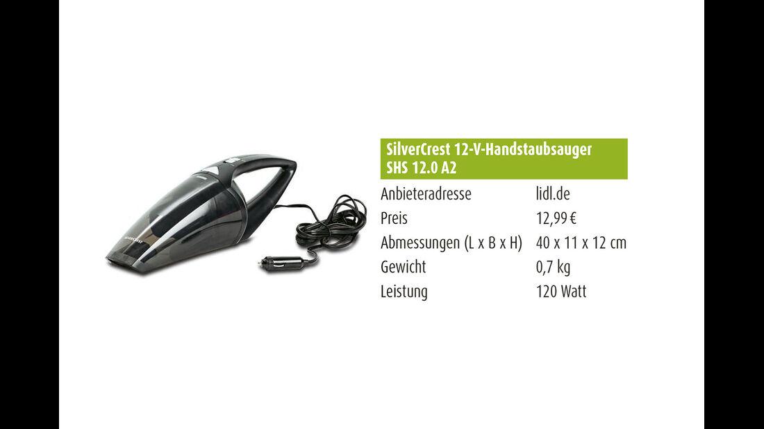SilverCrest 12-V-Handstaubsauger SHS 12.0 A2