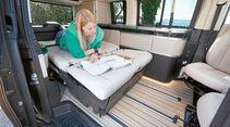 Sitzbank und Bett beim neuen Marco Polo