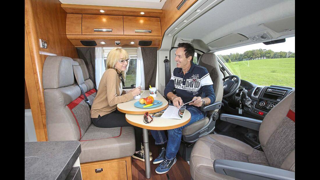 Sitzgruppe im Malibu Van 600 LE