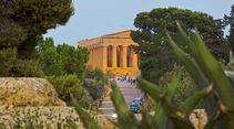 Sizilien Concordia-Tempel Agrigento