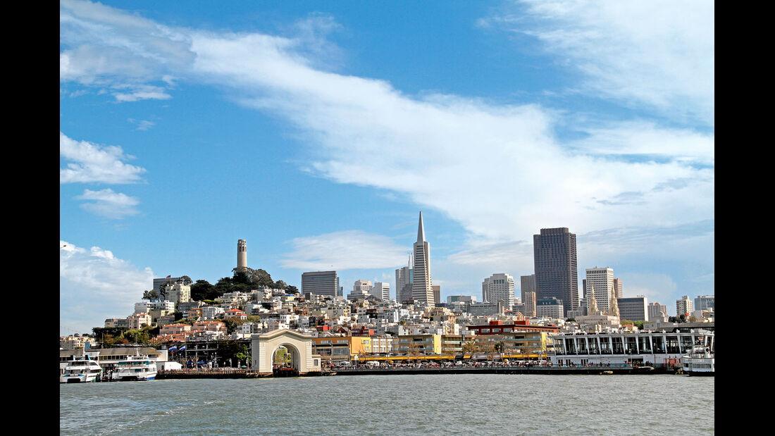 Skyline von San Francisco.