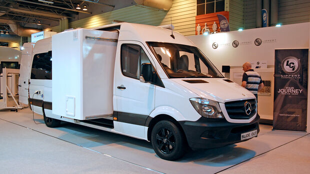 Slide Out Europe Mercedes Sprinter