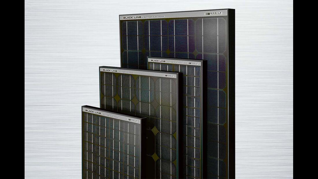 Solaranlage Black Line Büttner Elektronik
