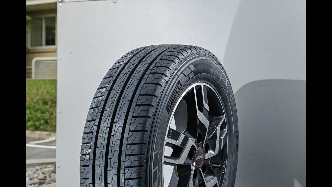 Somerreifentest, Reifen