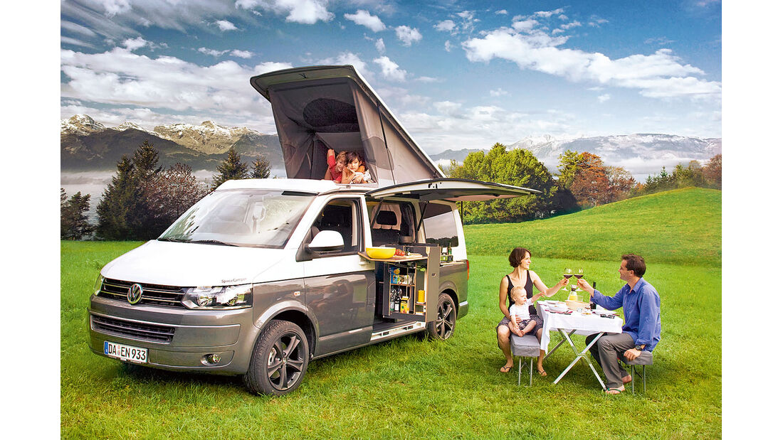 Space Camper Campingbus