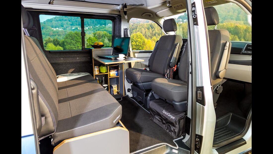Spacecamper Limited (2019) auf VW T9