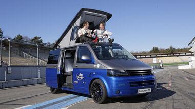 Spacecamper TH 5 auf dem Hockenheimring