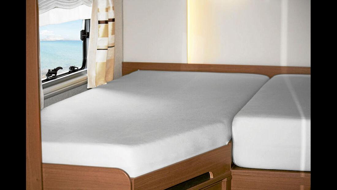 Spannbetttücher für Wohnmobilbetten