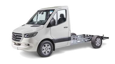 Spezial-Chassis fuer Reisemobile