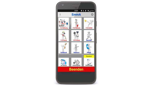 Spezial Gesundheits App Emma