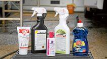 Spezielle Mittel für die Reinigung von Acrylglas