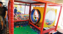 Spielmöglichkeit für Kinder auf der Fähre