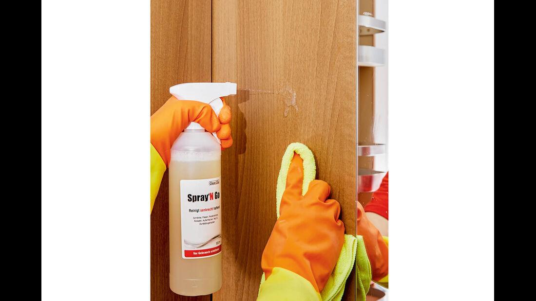Spray'N Go von Clean2Go für senkrechte Flächen