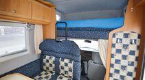 Stabile Metallbügel geben den Sitzlehnen und Kopfstützen guten Halt im Karmann Colorado