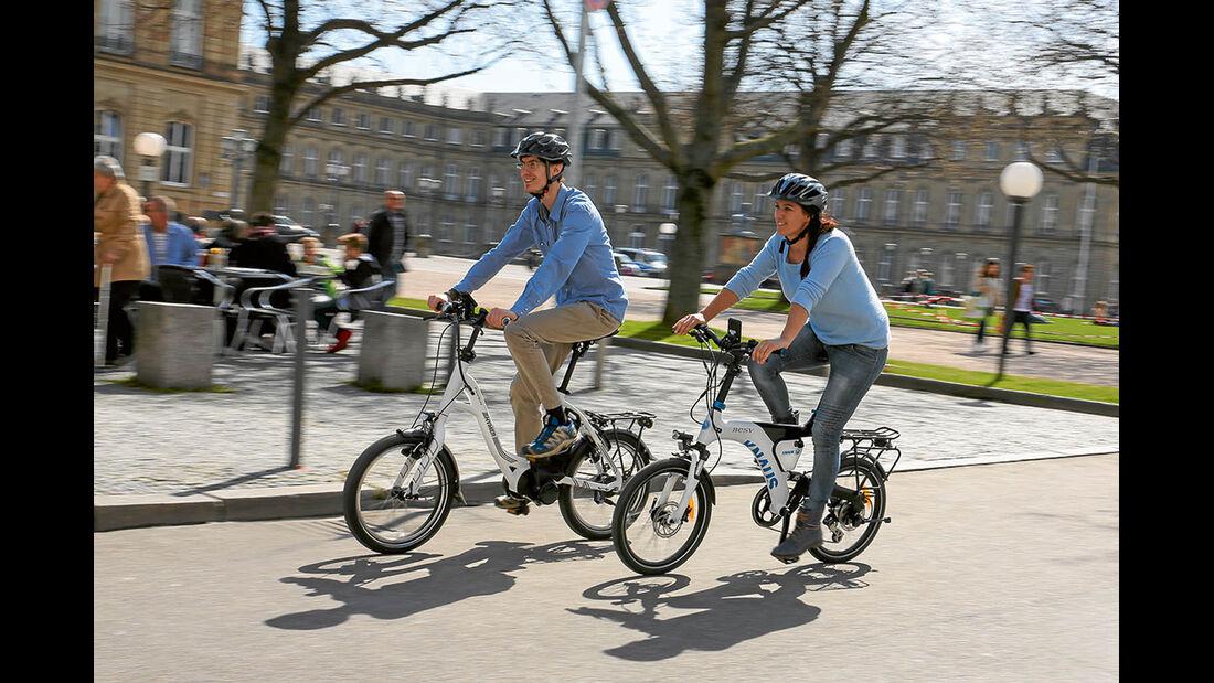 Stadtrundfahrt auf E-Bikes