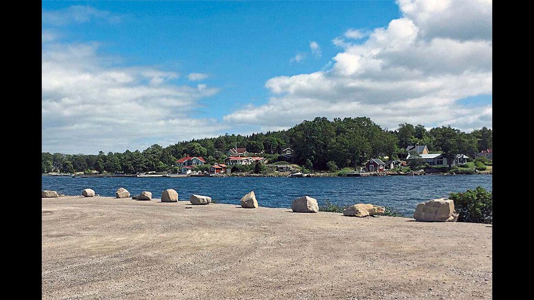 Ställplats Östra Piren
