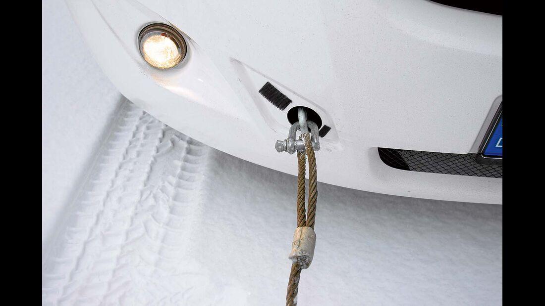 Stahlseil für Auto abschleppen
