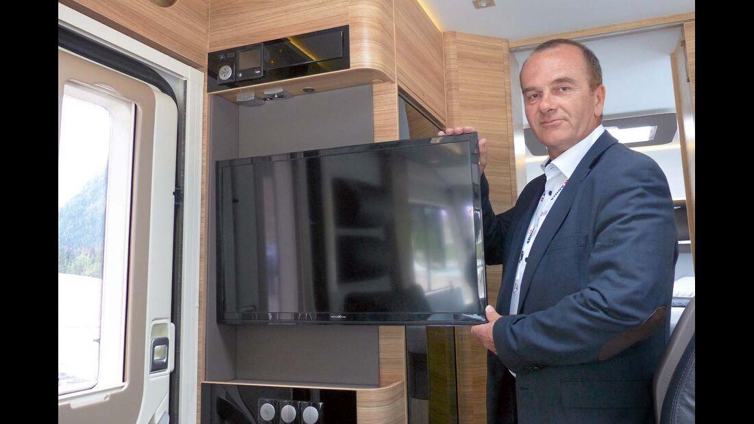 Stane Bukovec, Produktmanager bei Adria