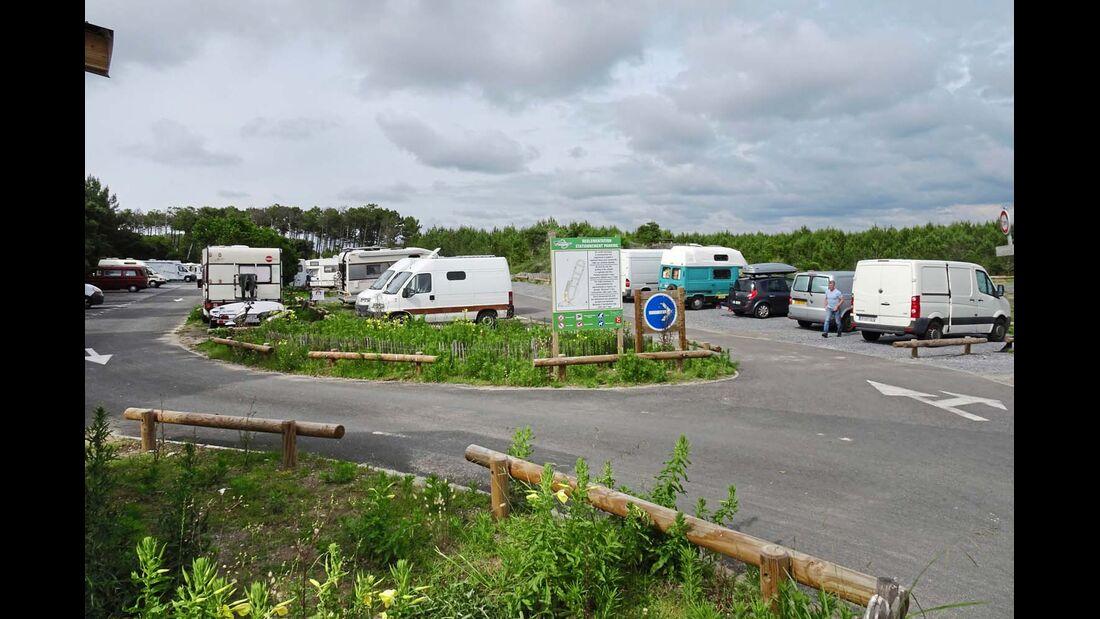 Stationnement Parking in Messanges-Plages