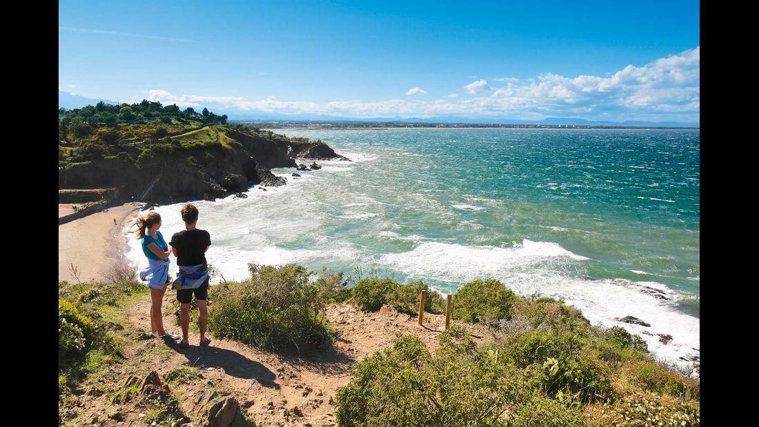 Steilküste bei Collioure