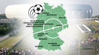 Stellplätze Fußballstadien