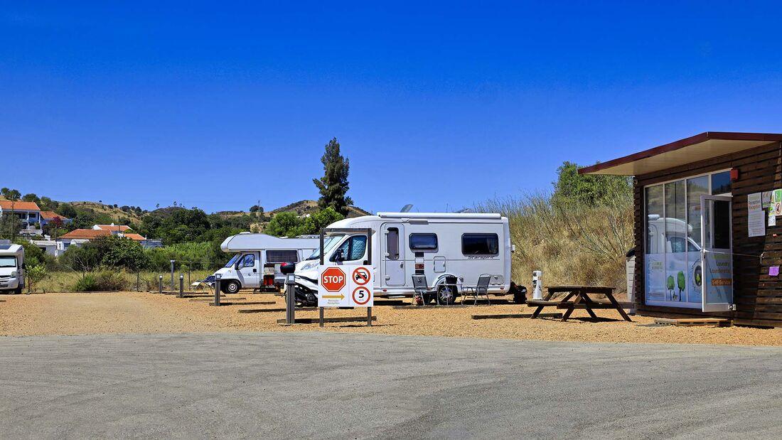 Stellplätze an der Algarve