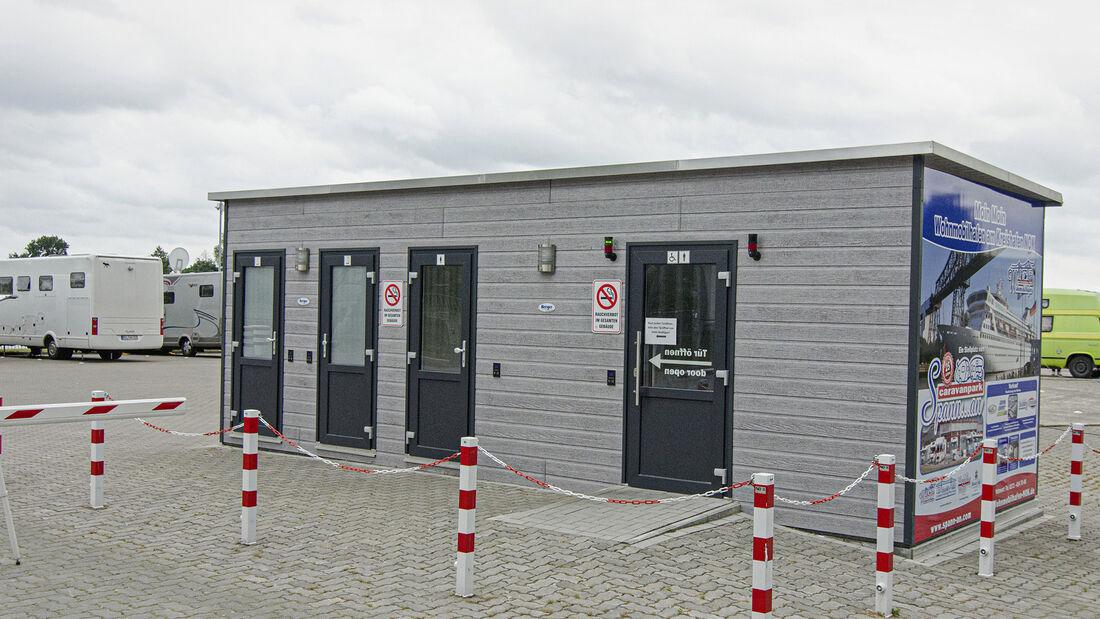 Stellplätze an der Deutschen Fährstraße