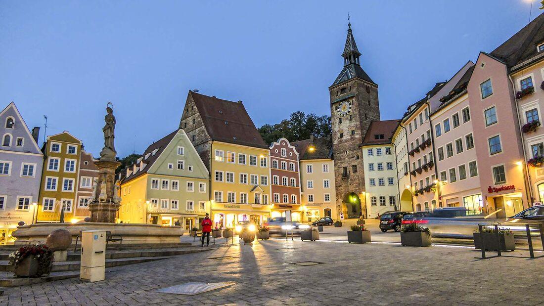 Stellplätze in Oberbayern