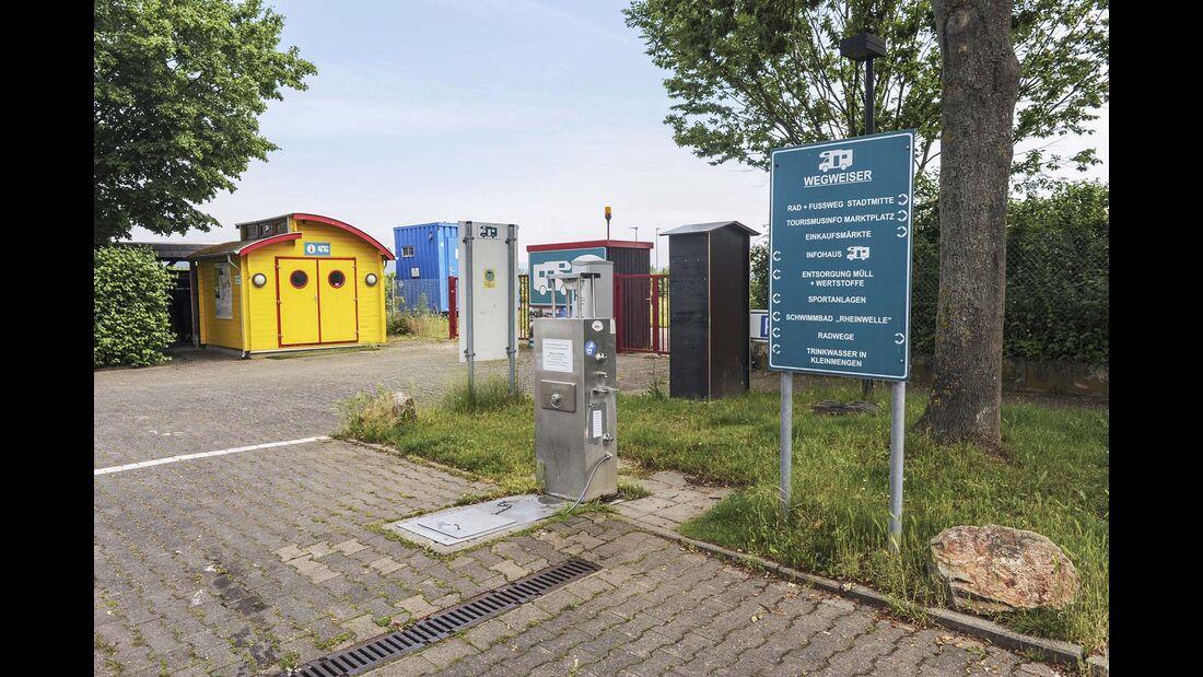 Stellplatz Algesheim
