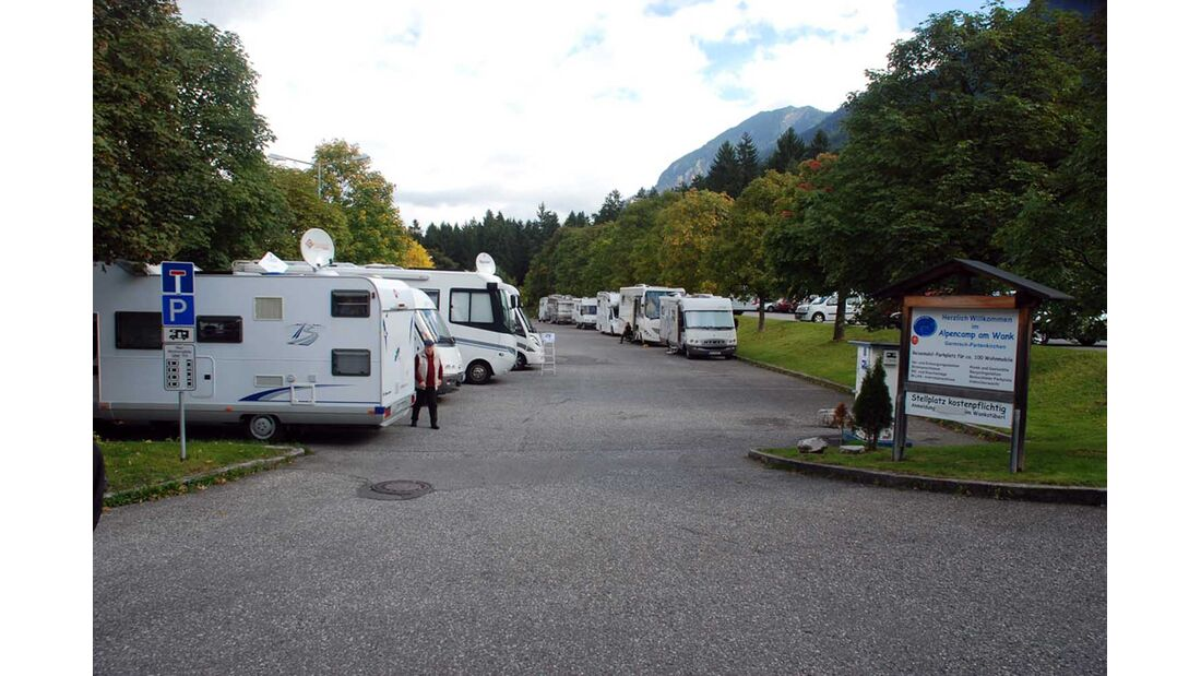 Stellplatz Alpencamp am Wank in Garmisch-Partenkirchen