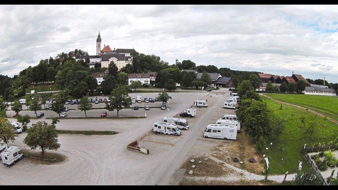 Stellplatz Andechs