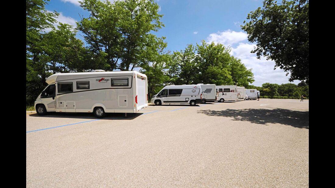 Stellplatz Area Camper