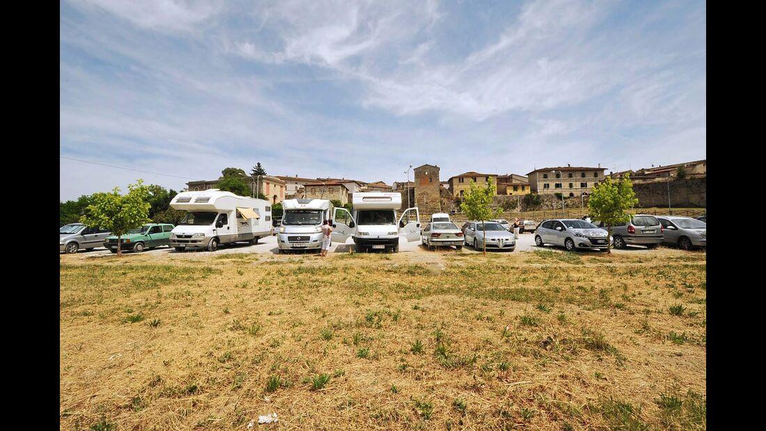 Stellplatz Area Sosta Camper