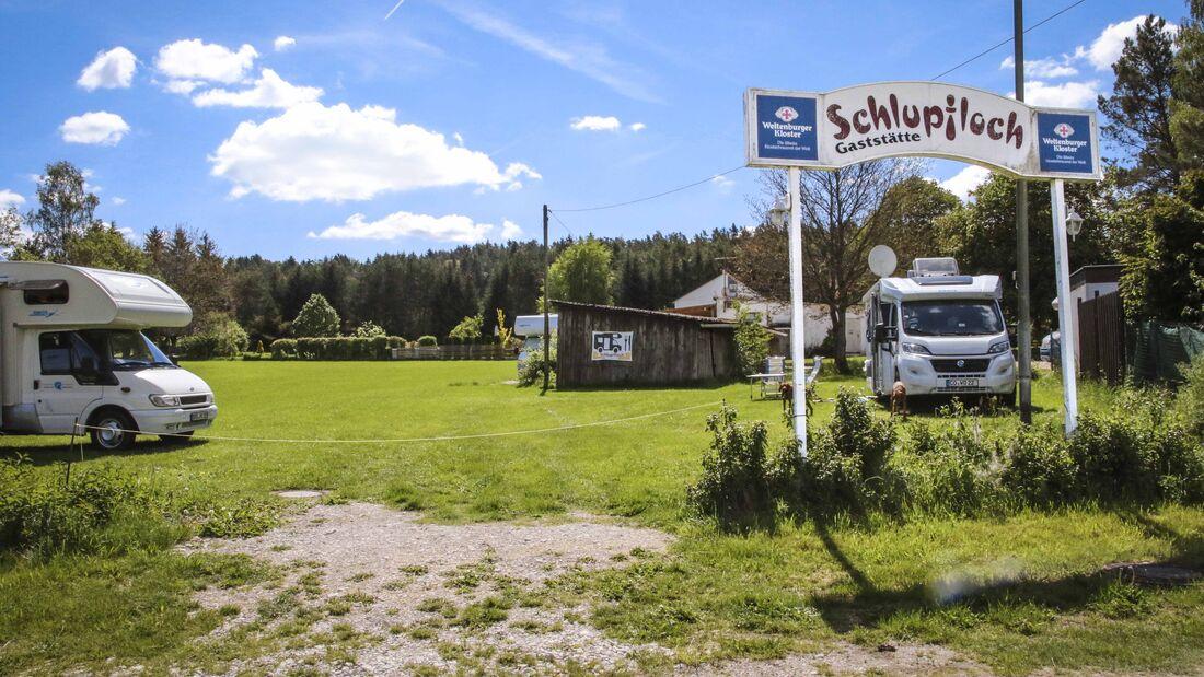 Stellplatz Auerbach
