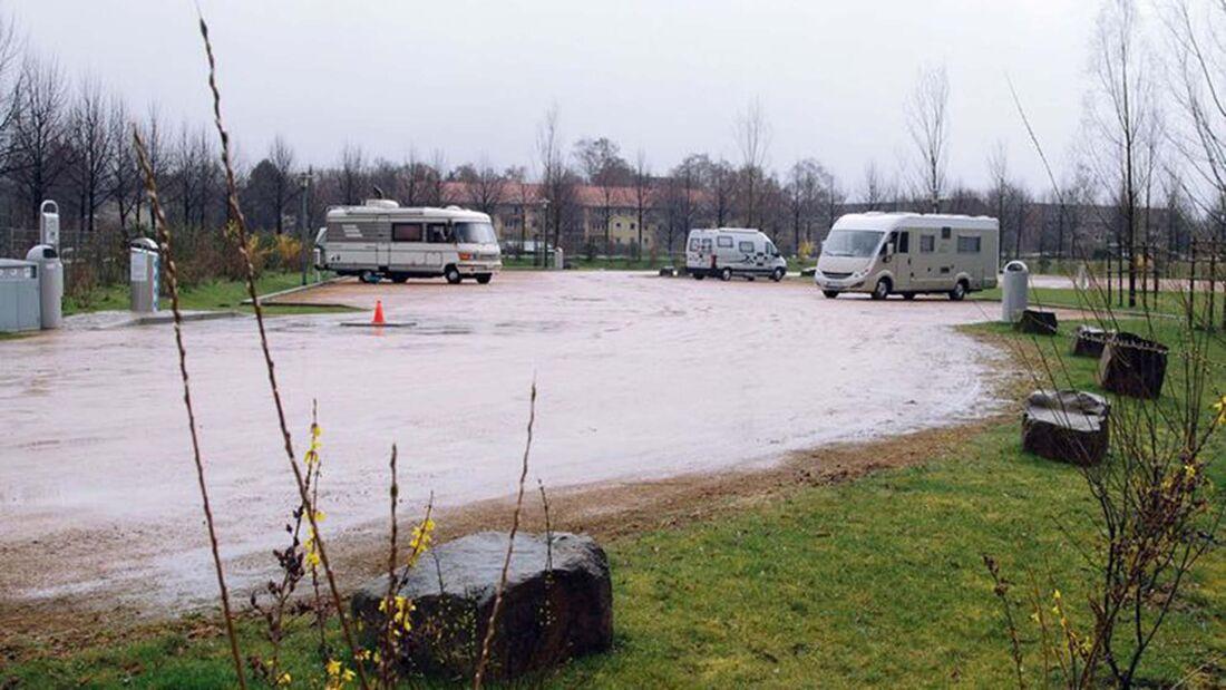 Stellplatz Badeparadies Eiswiese