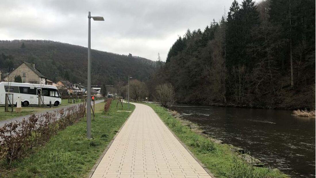 Stellplatz Camperpark Vianden