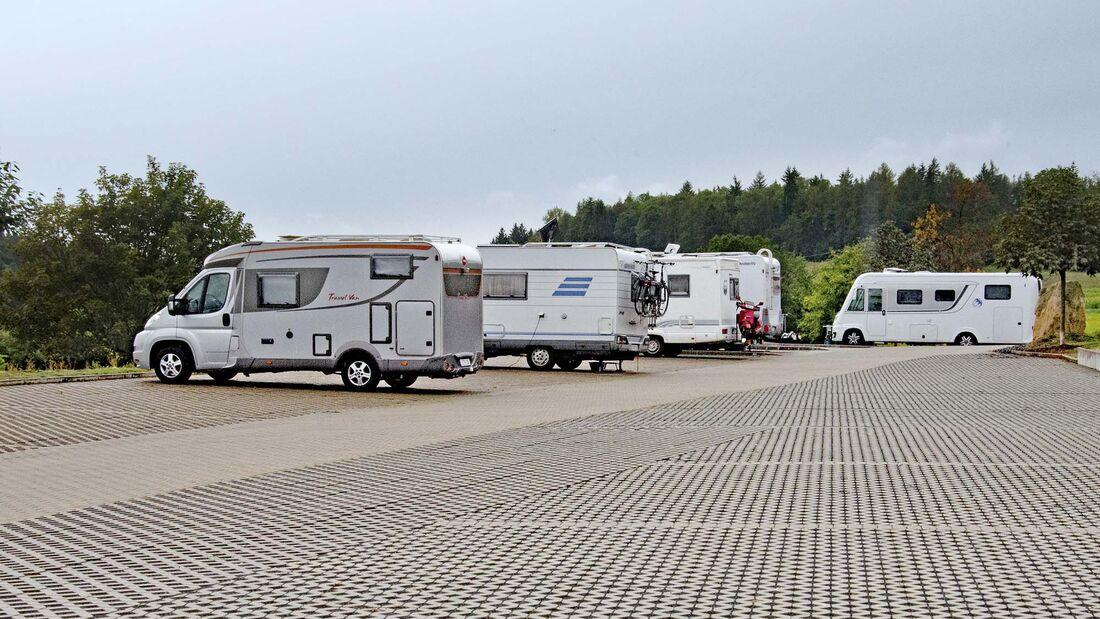 Stellplatz Camping Freizeithugl