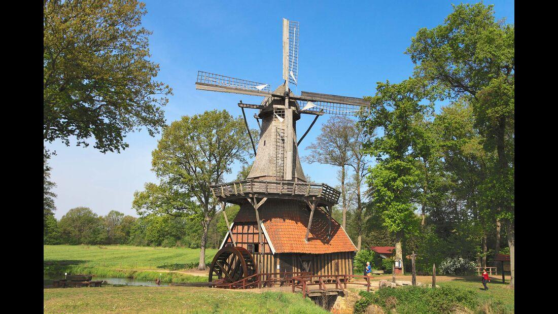 Stellplatz-Fokus Emsland Windmühle