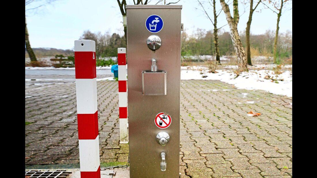 Stellplatz-Fokus Emsland Wohnmobilstellplatz Am See