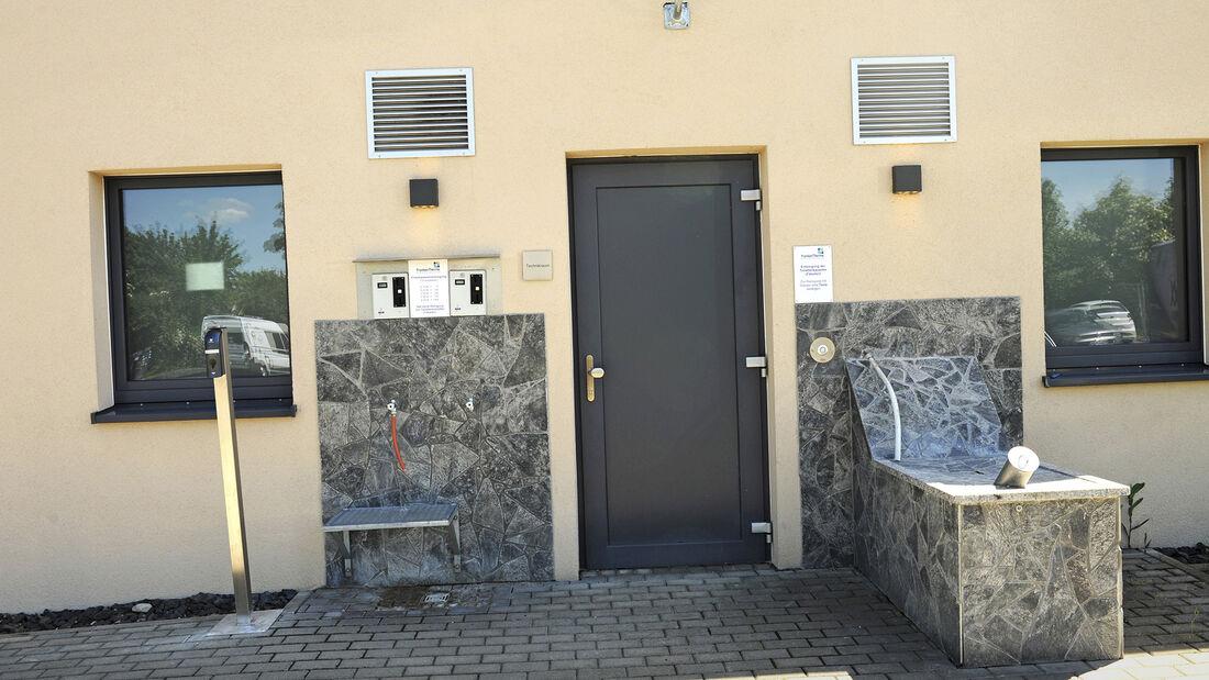 Stellplatz Frankentherme in Bad Königshofen