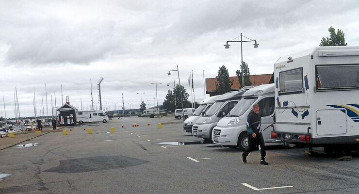 Stellplatz Gästhamnen Mariestad