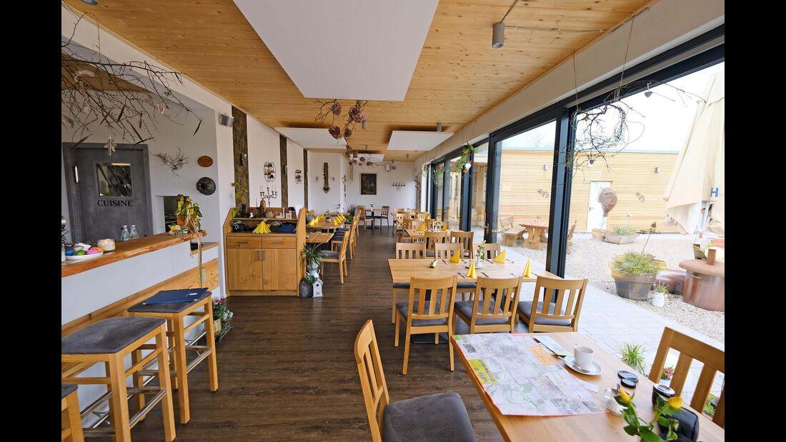 Stellplatz Heicamp Restaurant Wunderbar