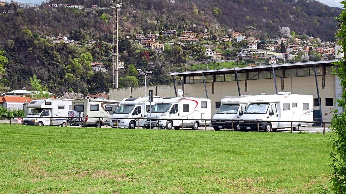Stellplatz Maccagno