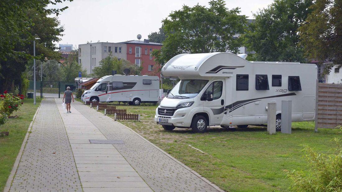 Stellplatz Marina Winterhafen