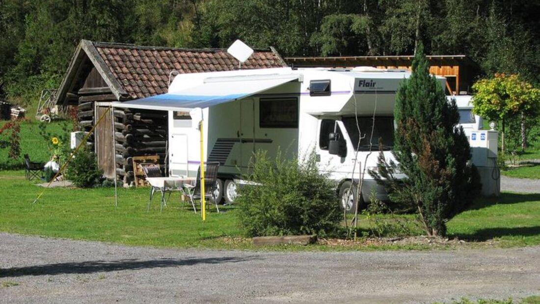 Stellplatz Mountain Camp