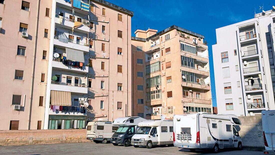 Stellplatz Palermo